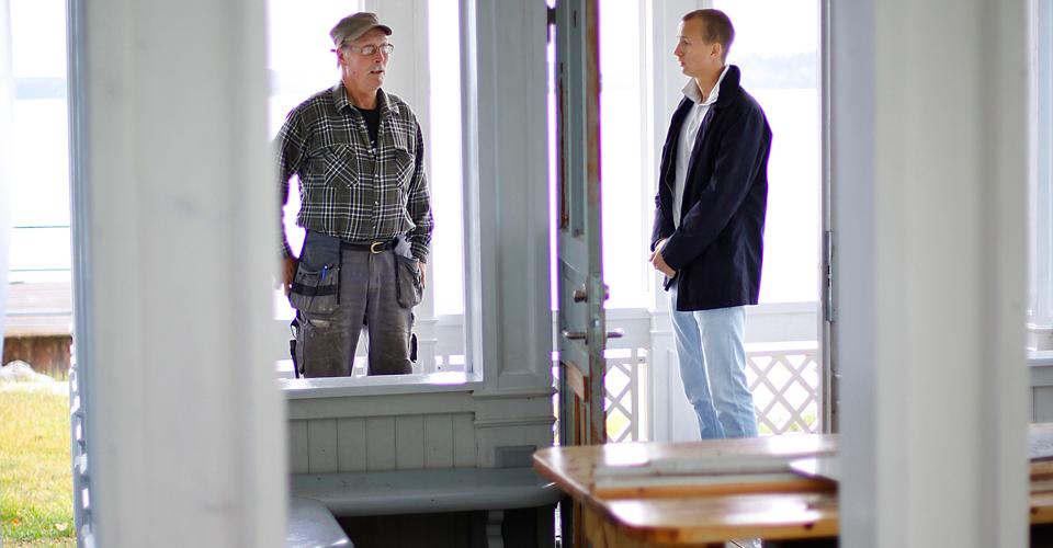 Kjellbergs Bygg är ett familjeföretag med bred kompetens inom byggnadsvård